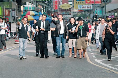 杜琪峰导演的《复仇》入围戛纳,早前曾在港取景拍摄。
