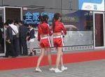 车模MM上海车展