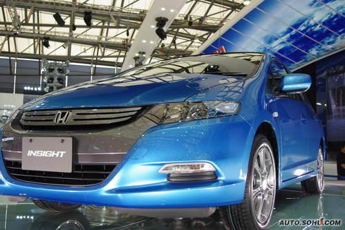 本田 Insight 实拍 外观 国内首发 新能源车 家用 20-30万 图片
