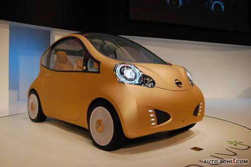日产 NUVU 实拍 外观 概念车 图片