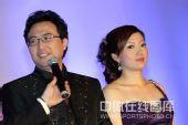 图文:李佳薇李超婚礼现场 李超难掩激动心情