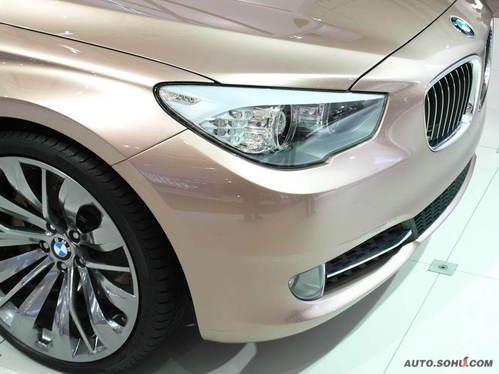 宝马 5系GT 实拍 外观 图片