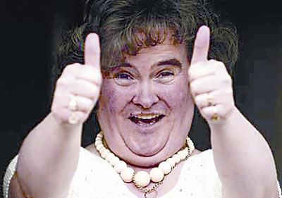 苏珊大妈因超女比赛一夜成名