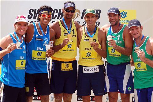 领奖台全是巴西人