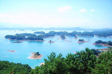 推荐景点:秀水千岛湖