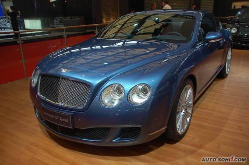 宾利 欧陆 实拍 外观 车展上市 个性 豪华 50万元以上 图片