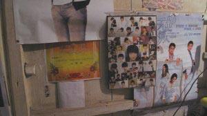 女生冰冰的家里,贴满了偶像魏晨的照片
