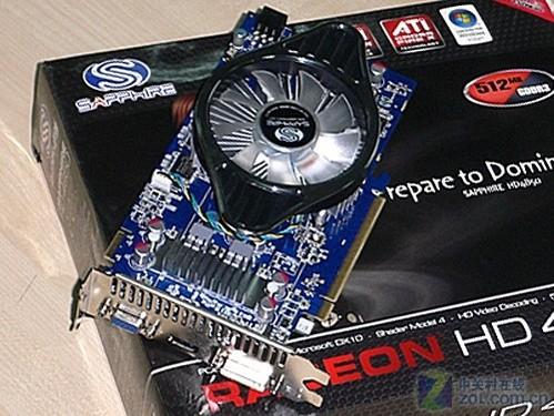 蓝宝石 HD4850 512M GDDR3 海外版