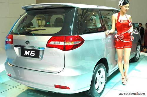 比亚迪 M6 实拍 外观 国内首发 国际首发 即将上市 自主车 家用 10-15万 图片