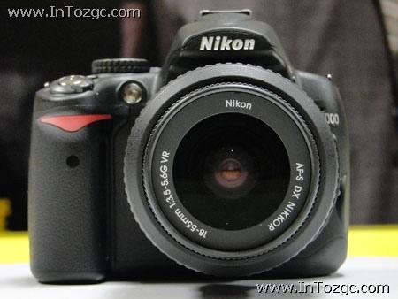 尼康在京正式发布D5000 单机售价6100元
