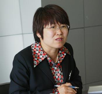 北京地坛医院副院长李秀兰