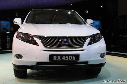 雷克萨斯 RX混动 实拍 外观 国内首发 车展上市 新能源车 50万元以上 进口新车 图片