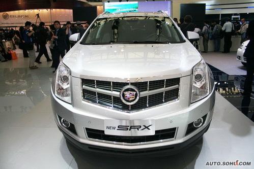 凯迪拉克 SRX 实拍 外观 商务 50万元以上 进口新车 图片