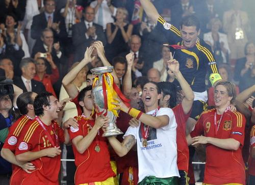 10-西班牙国家队(2008年)