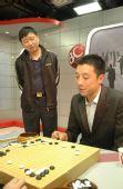 图文:BC卡杯决赛赵汉乘扳平比分 古力笑对失利