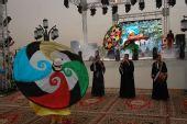 图文:埃及站开幕式精彩 埃及民族乐器演绎