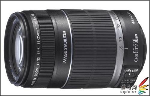 为数码设计 佳能发布EFS55-250长焦镜头