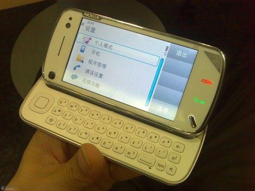 S60 V5智能旗舰 诺基亚N97中文版试玩