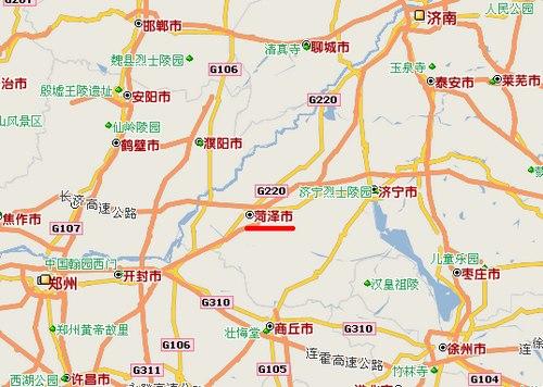 山东省菏泽市概况总述