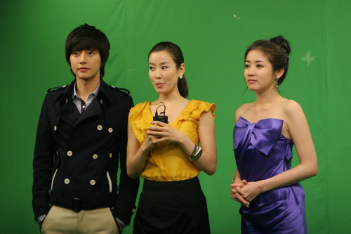 朴海镇、李泰兰和崔贞媛