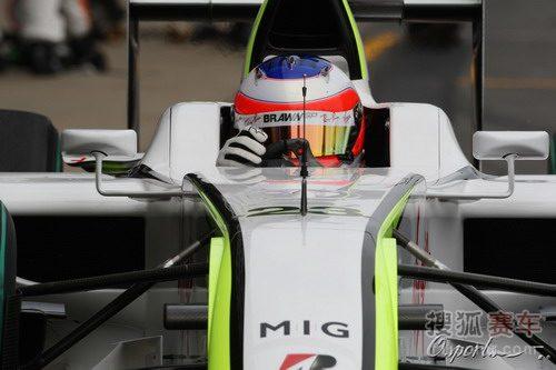 图文:F1西班牙站排位赛 巴里切罗特写
