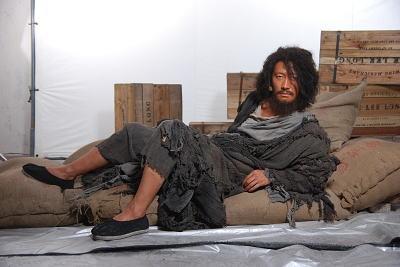 黎明的乞丐造型