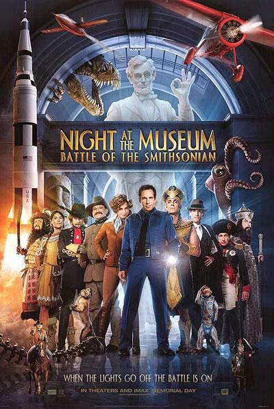 《博物馆之夜2》海报