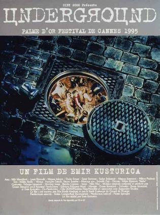 电影《地下》海报