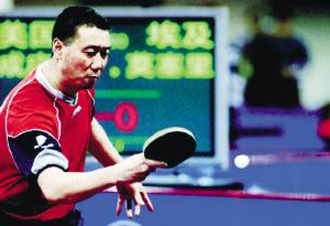 2005年,成应华在比赛中