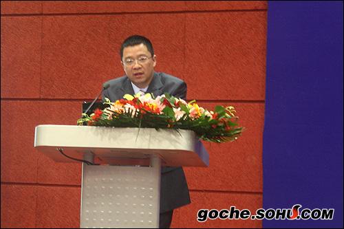 此次展会协办方代表——张珺先生发言