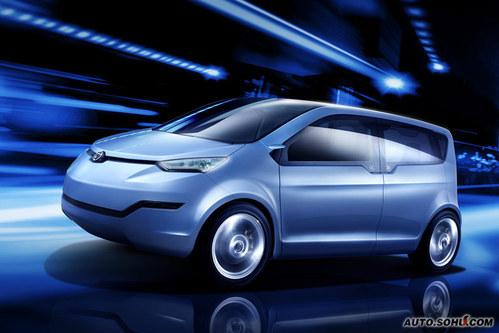 中华 EV纯电动车 壁纸 外观 图片