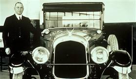 克莱斯勒的创始人沃特 P. 克莱斯勒,1921年。