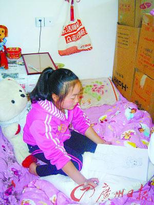 四川 女孩 美少女战士/12岁的何小英总喜欢画美少女战士。
