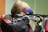 图文:德国站女子10米气步枪 捷克选手卡尔娜
