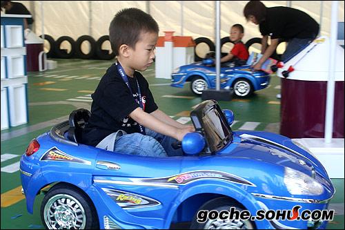 汽车科技儿童体验区