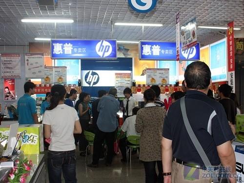 100台/日于国美销售 惠普3G本火爆京城
