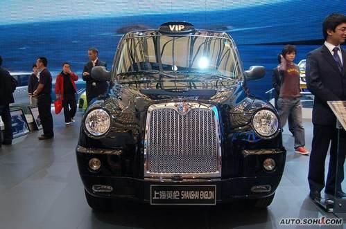 上海英伦 TX4 实拍 外观 图片