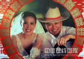 图文:高��武汉再摆婚宴 甜蜜婚纱照