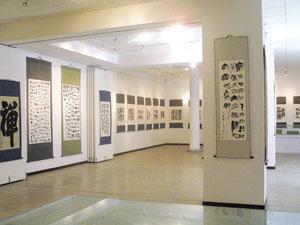 北京艺术博物馆书画展厅