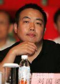 图文:2009年乒超联赛开幕 刘国梁在开幕式上