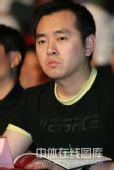 图文:2009年乒超联赛开幕 孔令辉在开幕式上