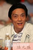 图文:2009年乒超联赛开幕 陆元盛在开幕式上