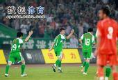 图文:[中超]北京3-1青岛 闫相闯锦上添花
