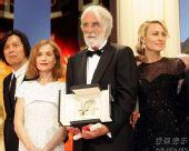 图:戛纳颁奖礼圆满结束 获奖众星集体登台