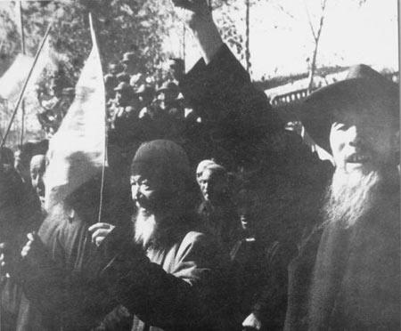 西宁的回族群众欢迎解放军