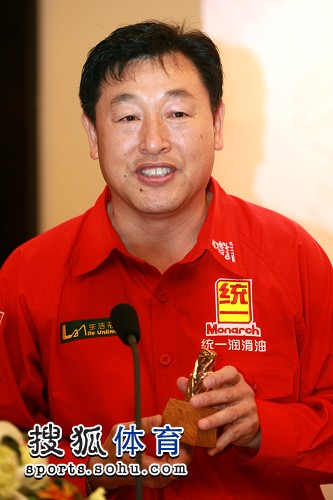 中国第一代职业赛车手卢宁军 获誉 中国车王