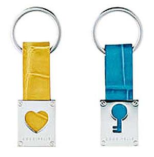 鲜黄、翠蓝色匙扣 未定价
