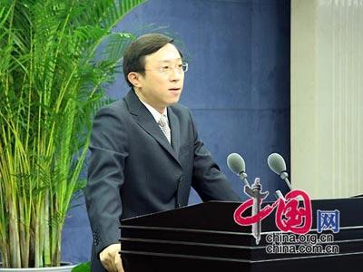 国台办新闻发言人杨毅