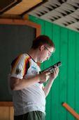 图文:男子25米手枪速射比赛 德国小将雷茨