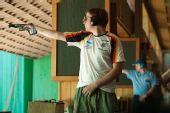 图文:男子25米手枪速射比赛 雷茨冷静射击